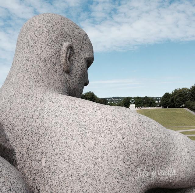 Escultura en Parque Vigeland