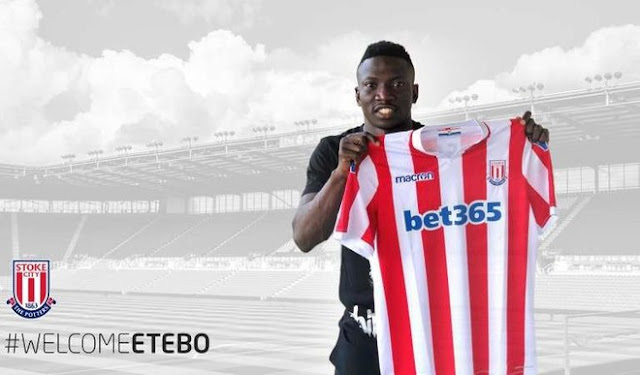 Super Eagles' Oghenekaro Etebo signs five-year deal with Stoke