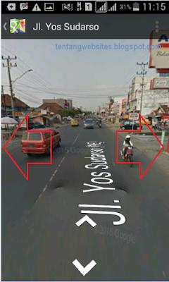cara menggunakan google street view di android dan PC