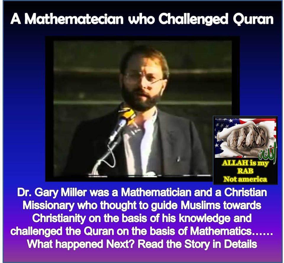 Revert2Islamtoday: Mathematician who challenged Quran