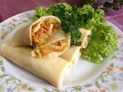 Peluang Usaha Kuliner Makanan Lumpia Basah