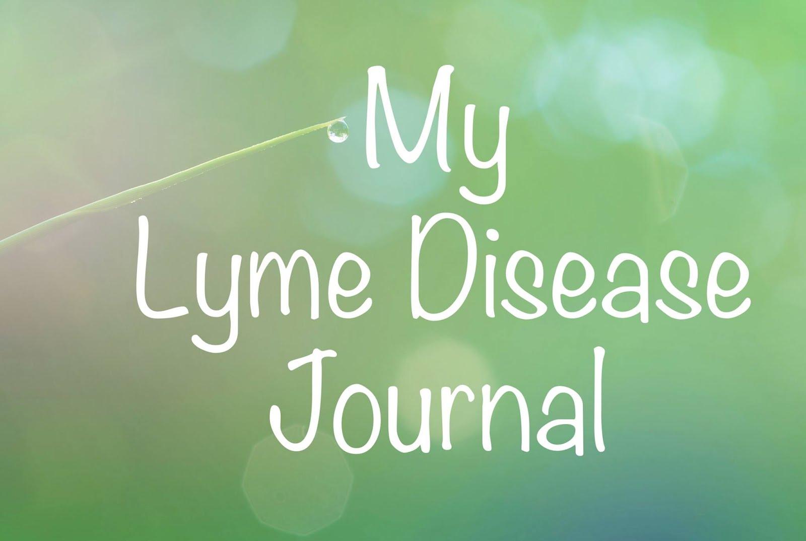 My Lyme Disease Journal: 2018