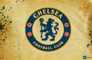 Chelsea Logo Design on Old Paper Texture HD Football Wallpaper
