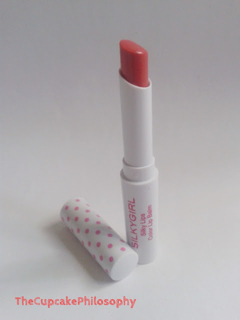 silkygil color lip balm romantic pink 04 review