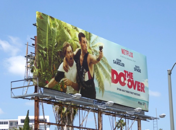 Do-over Netflix film billboard