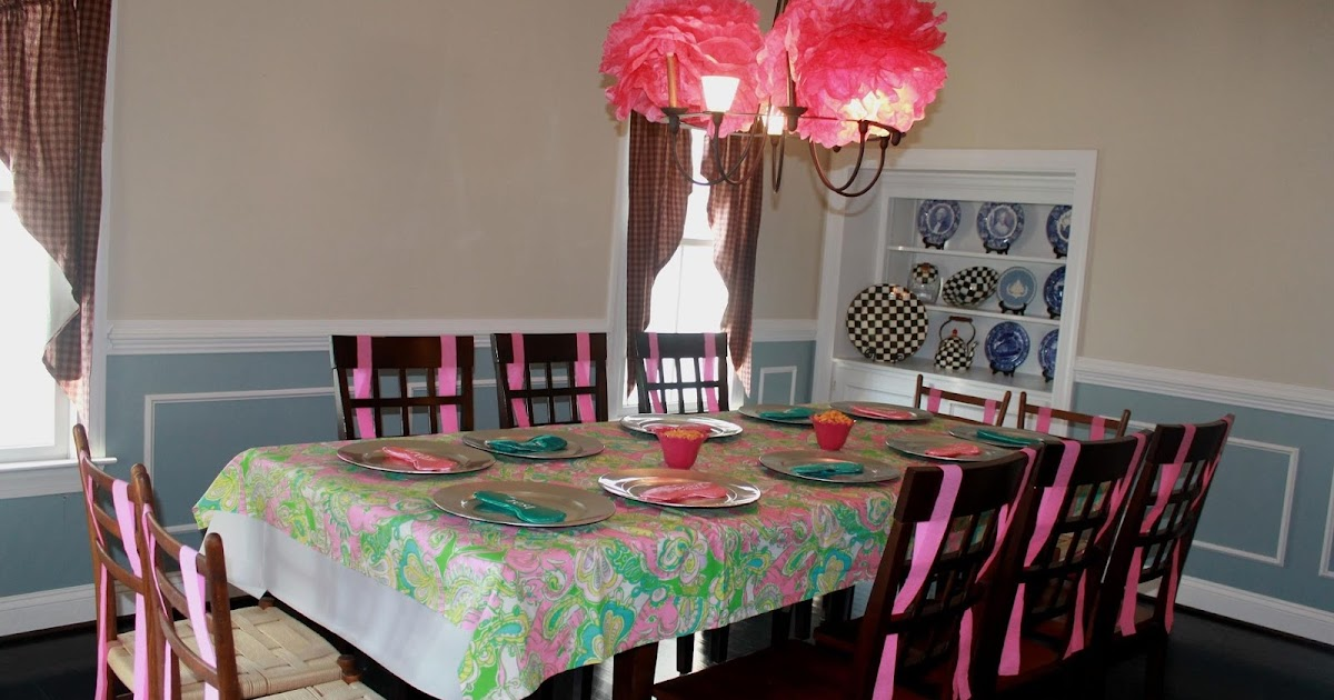 Maryland Pink And Green Tween Birthday Spa