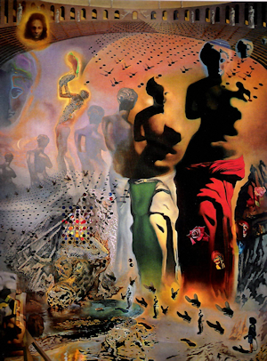 "Dali's ""The Hallucinogenic Toreador"""