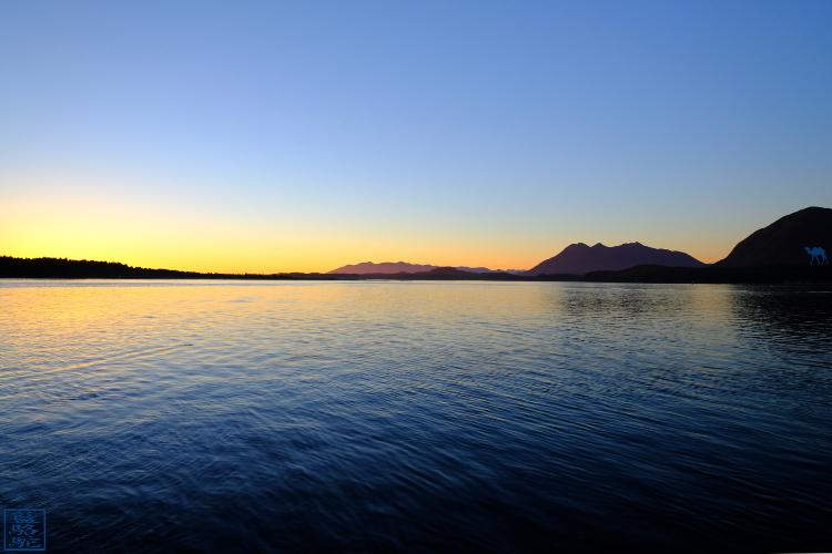 Le Chameau Bleu - Blog Voyage Canada Colombie Britannique -Sunset sur Tofino