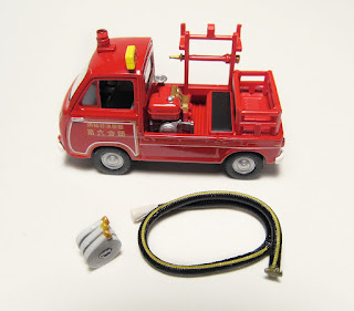 tomica fire engine truck