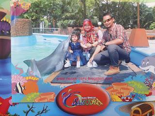 Keluarga Arisandy Joan Hardiputra Liburan ke Ocean Dream Samudra
