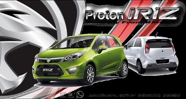 PROTON IRIZ 2017 senarai harga proton edar price list - promosi proton edar 2017 Graduate Scheme, Grad Hitz, Skim Siswazah #promosiproton #protoniriz