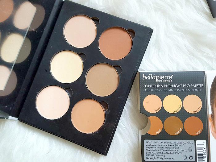 bellàpierre cosmetics - Contour & Highlight Pro Palette review 4