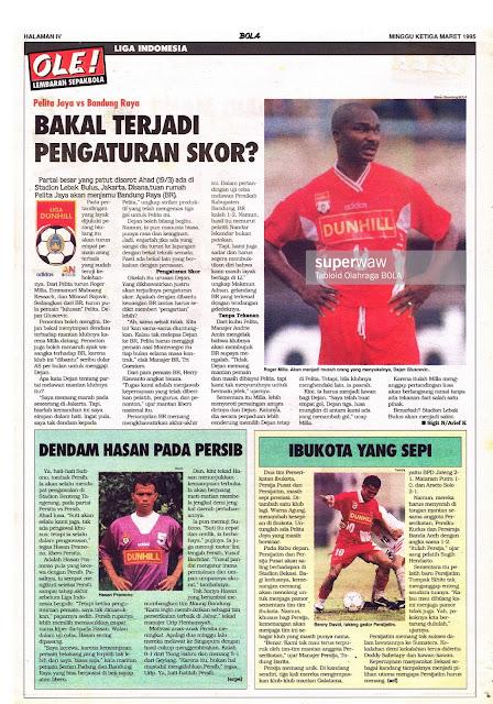 LIGA INDONESIA: Pelita Jaya vs Bandung Raya