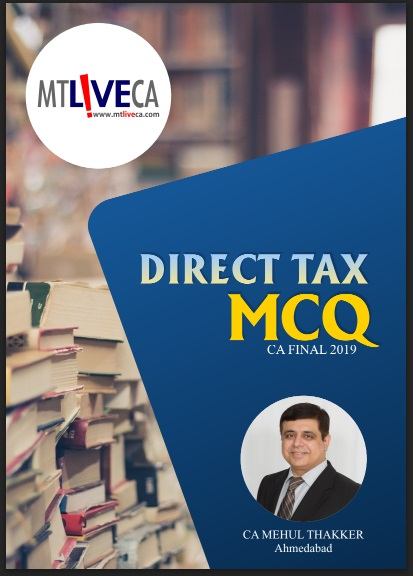CA Final DT MCQ by Mehul Thakker
