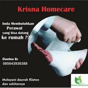 kalasan dan sekitarnya yang membutuhkan jasa perawat homecare atau perawat yang bisa dipa jasa perawat panggilan ke rumah ( homecare ) di prambanan dan sekitarnya