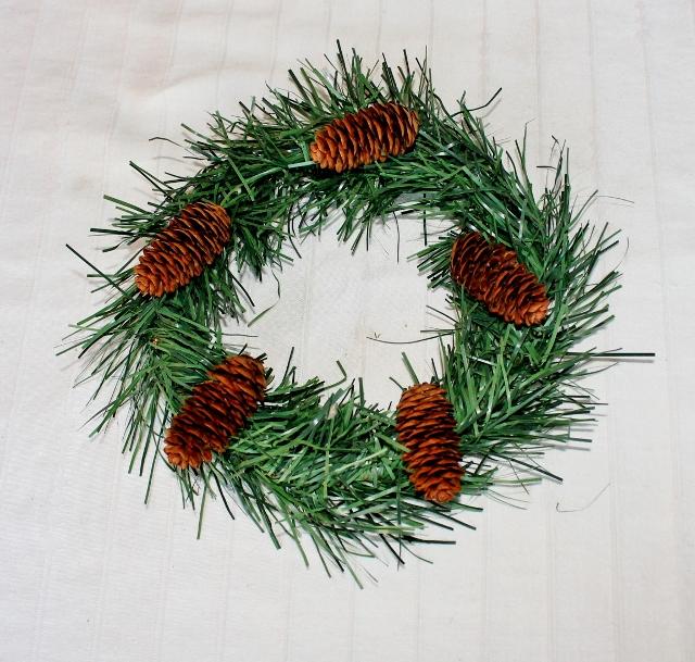 DYI Dollar Store Ten Cent Wreaths