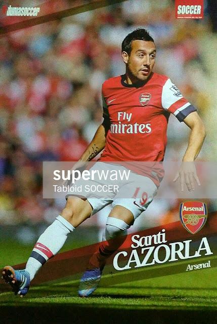 Santi Cazorla Arsenal 2012