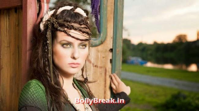 Elena Kazan Hot Pics German Russian Actress In Bollywood