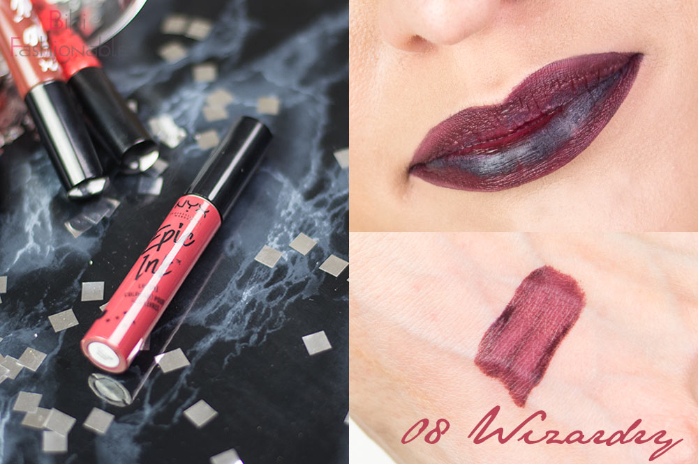 Nyx Cosmetics Epic Ink Lip Dye EILD 08 Wizardry