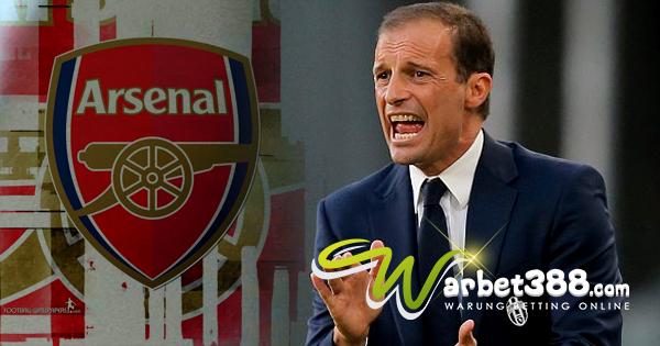 Agen SBOBET Online Terbesar - Negosiasi Dengan Arsenal, Allegri Segera Susul Conte di Premier League