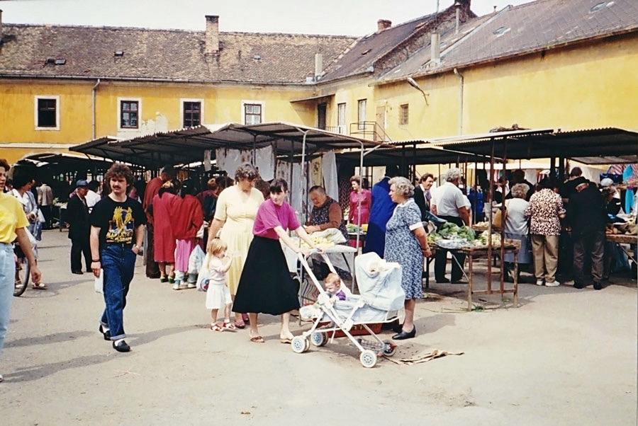 Hungarian outdoor market