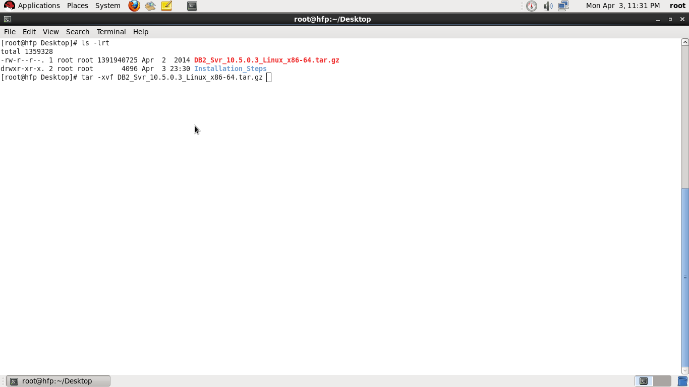 Step by Step installation of DB2 V10.5 on Linux ~ Vinay's