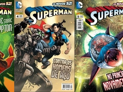 Resenha Superman Nº 03, 04 e 05