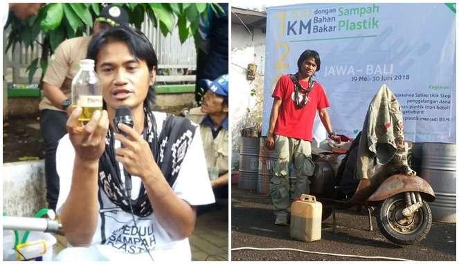 Menilik Kisah Pria Inspiratif yang Ubah Limbah Plastik Menjadi BBM