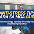 Anti-STRESS tips for TEACHERS