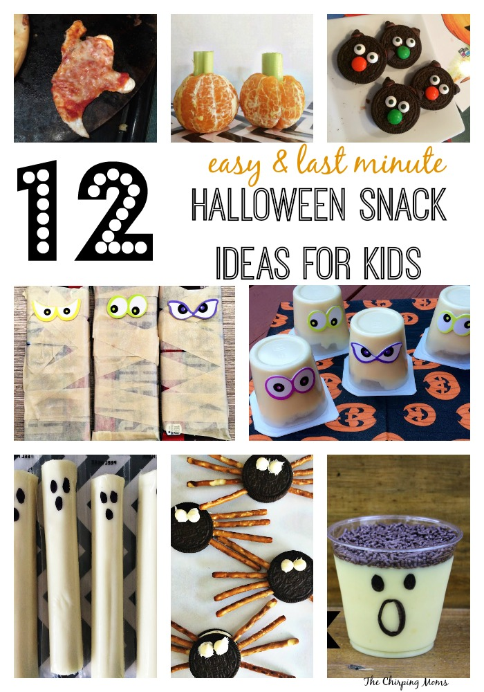 3 Easy Diy Storage Ideas For Small Kitchen: Last Minute Easy Halloween Treats