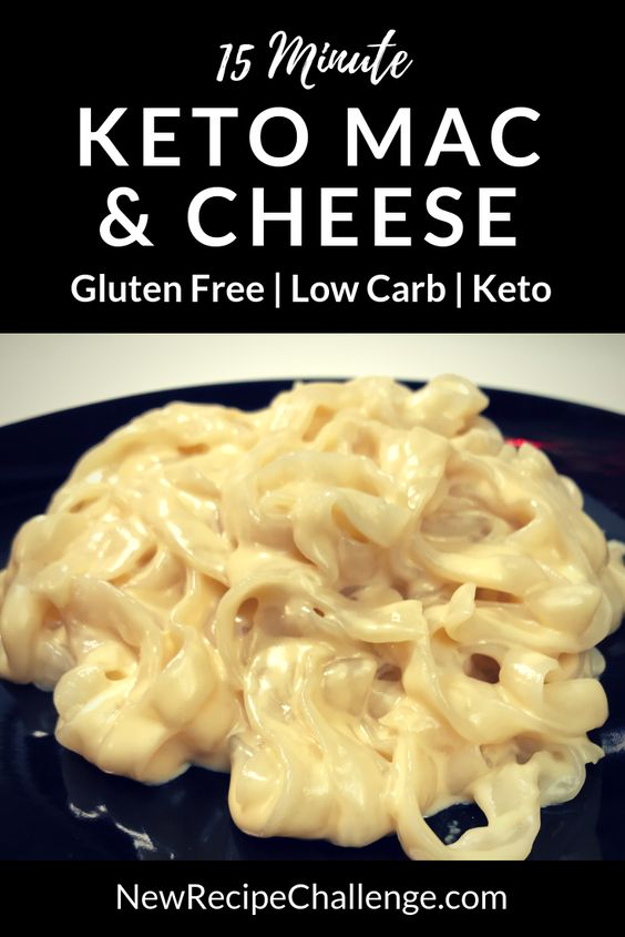Classic Keto Mac & Cheese – Low Carb & Gluten Free