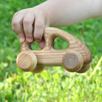 Baby Wooden Car LBC22, Lotes Toys