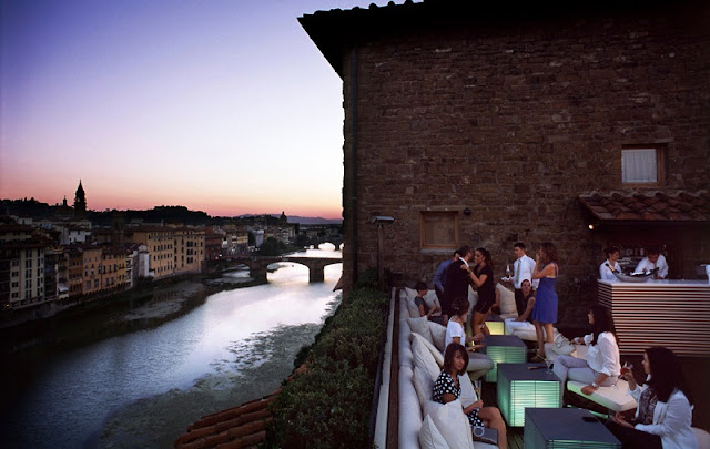 Lounge Bar La Terraza em Florença