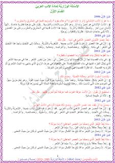 ملزمة حلول وزاريات الادب مع حلول مناقشات للأستاذ صلاح هادي 2017