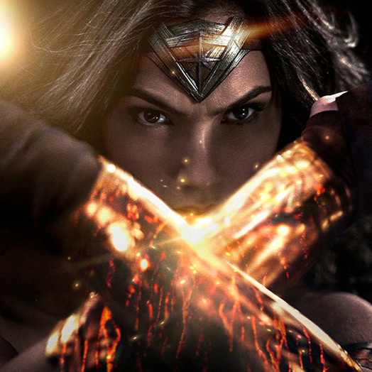 Wonder Woman + With Effects Wallpaper Engine