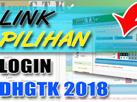 Sukses Login Aplikasi Online DHGTK Kemendikbud 2018 dengan Link Ini