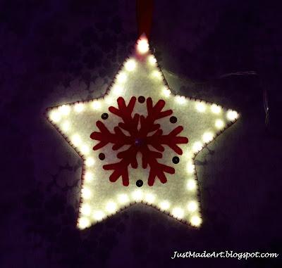 świecąca gwiazda