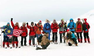 Wira Tawan Kutub Utara Kembali Ke Tanahair Esok