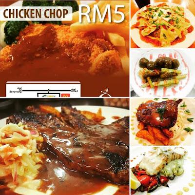 chicken chop RM5