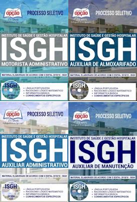 Apostilas do Instituto de Saúde e Gestão Hospitalar - ISGH