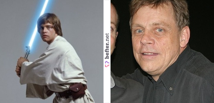 List Of Celebs Star Wars Stars Then And Now