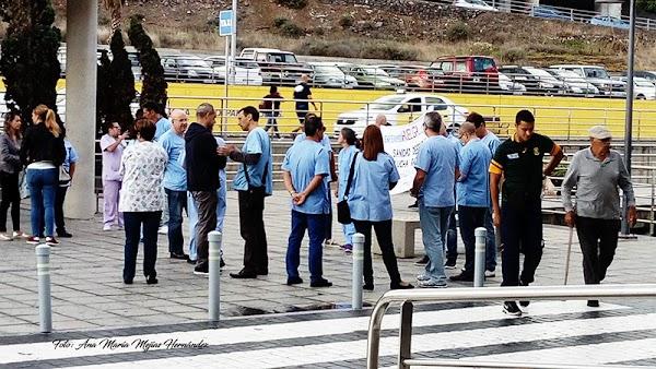 Huelga localizada de enfermería, Las Palmas de Gran Canaria