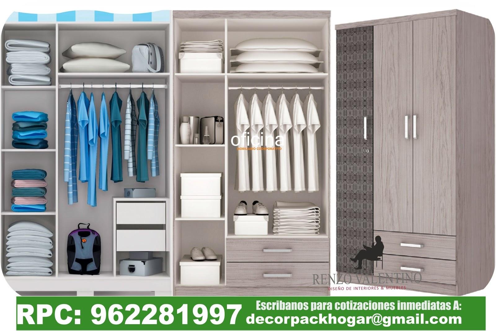 Dise os fabricacion de closet cocina y muebles de oficina for Diseno zapateras para closet
