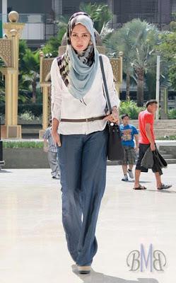 Baju Muslim Casual Dian Pelangi9
