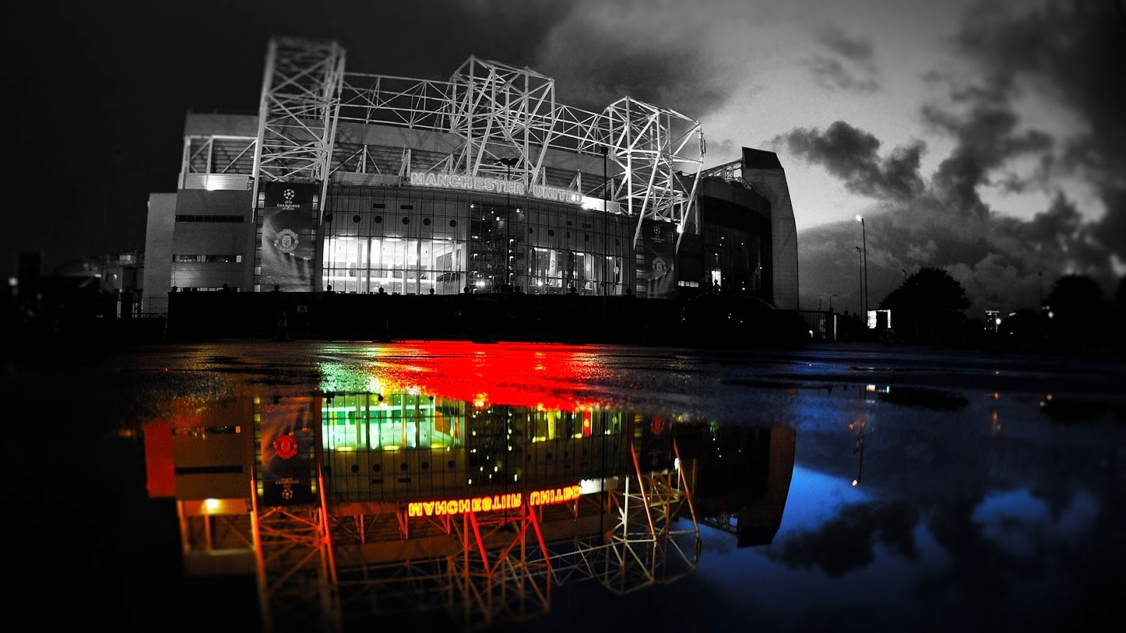 Manu 3d Name Wallpapers Manu Old Trafford Wallpapers Wallpaper Albums