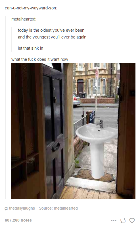 Let that sink in