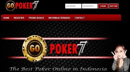 GOPOKER77.COM RESMI JUDI POKER ONLINE INDONESIA UANG ASLI TERBESAR