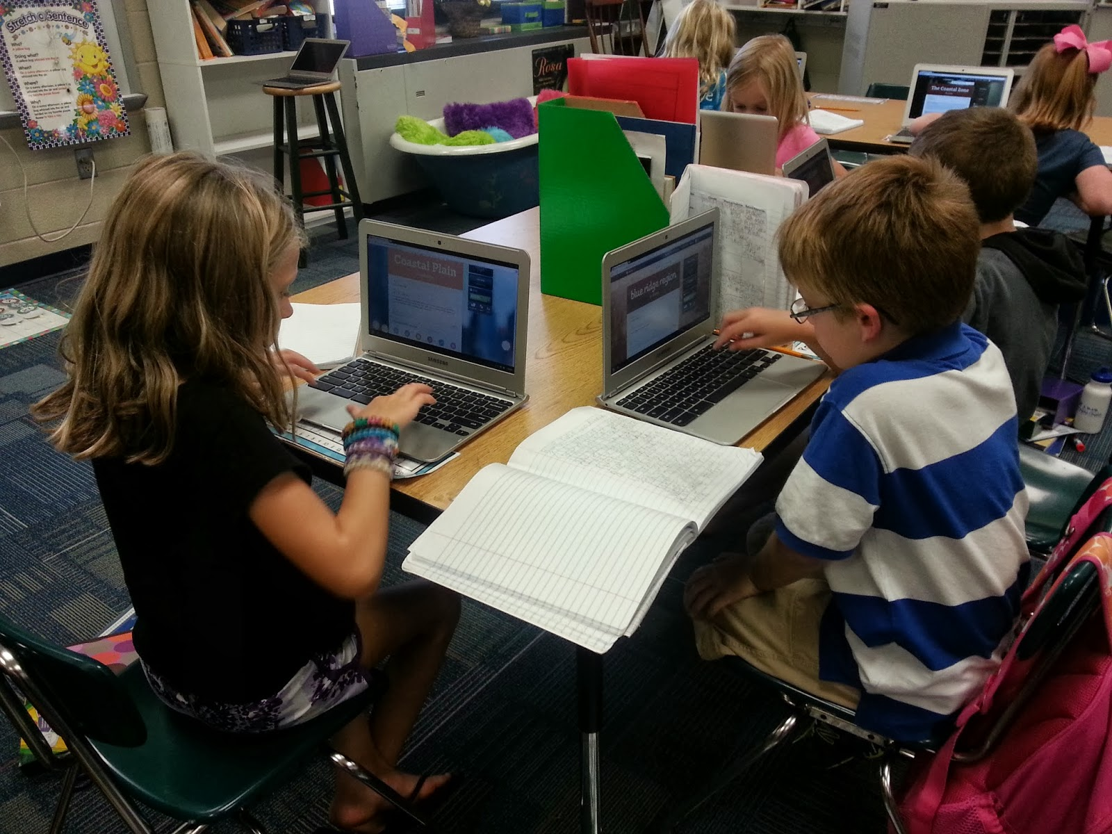 Technology Integration Projects Third Grade Students At