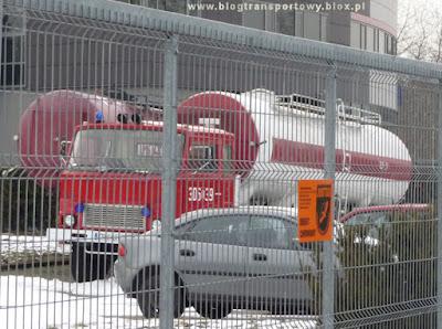 Jelcz 317 z PSP w Krakowie