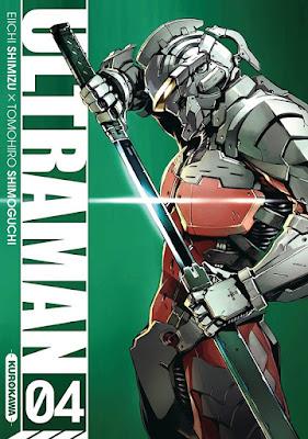 Ultraman tome 4 kurokawa